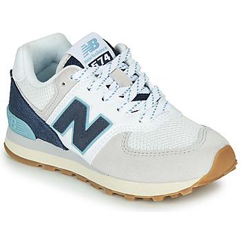 Schoenen Lage sneakers New Balance GC574SOU Wit / Blauw