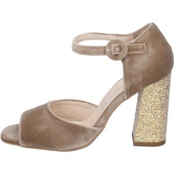 Schoenen Dames Sandalen / Open schoenen Olga Rubini Sandales BP361 Beige