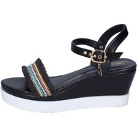 Schoenen Dames Sandalen / Open schoenen Enrico Coveri Sandales BP389 Noir