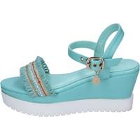Schoenen Dames Sandalen / Open schoenen Enrico Coveri Sandales BP390 Turquoise