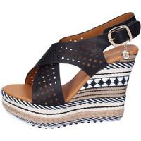 Schoenen Dames Sandalen / Open schoenen Enrico Coveri Sandales BP391 Noir