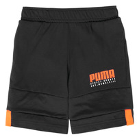 Textiel Jongens Korte broeken / Bermuda's Puma ALPHA JERSEY SHORT Zwart