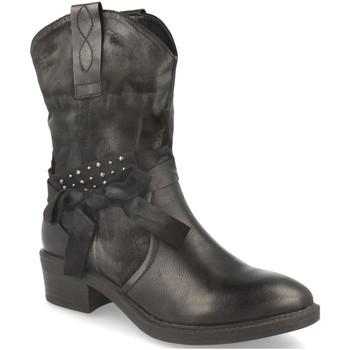 Schoenen Dames Enkellaarzen Forever Folie F3115 Negro