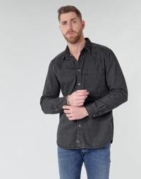 Textiel Heren Overhemden lange mouwen Diesel D-BER-P Zwart