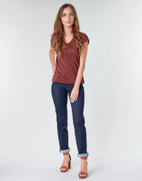 Textiel Dames Straight jeans Lee MARION STRAIGHT Rinse
