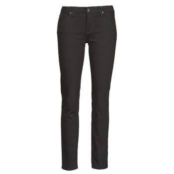 Textiel Dames Skinny jeans Lee ELLY  zwart / Rinse