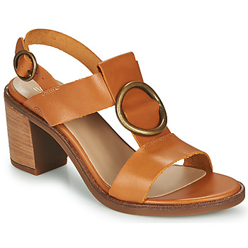 Schoenen Dames Sandalen / Open schoenen Casual Attitude MELINA  camel