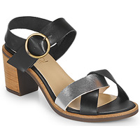 Schoenen Dames Sandalen / Open schoenen Casual Attitude MILLA Zwart / Zilver