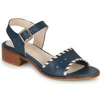 Schoenen Dames Sandalen / Open schoenen Casual Attitude RINEILUE Zwart / Zilver
