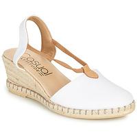 Schoenen Dames Sandalen / Open schoenen Casual Attitude MAYA Wit