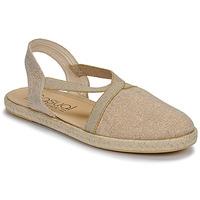 Schoenen Dames Sandalen / Open schoenen Casual Attitude MISSA Beige / Goud