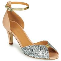 Schoenen Dames Sandalen / Open schoenen Emma Go JOLENE GLITTER Roze / Zilver / Goud