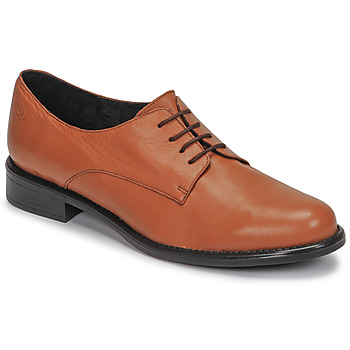 Schoenen Dames Derby Betty London CAXO Brown