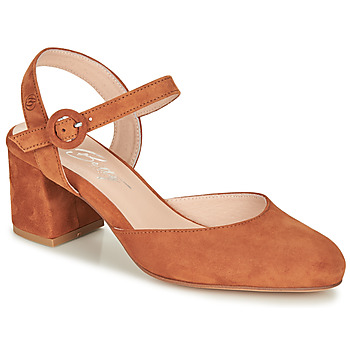 Schoenen Dames pumps Betty London MALINE  camel