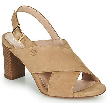 Schoenen Dames Sandalen / Open schoenen Betty London MARIPOL Beige