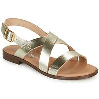 Schoenen Dames Sandalen / Open schoenen Betty London MADISSON Goud