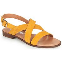 Schoenen Dames Sandalen / Open schoenen Betty London MADISSON Geel