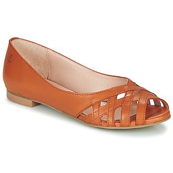 Schoenen Dames Sandalen / Open schoenen Betty London MANDISE Cognac