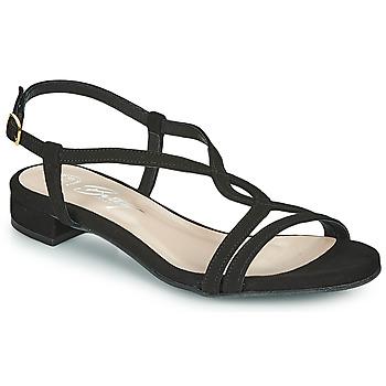 Schoenen Dames Sandalen / Open schoenen Betty London MATISSO Zwart