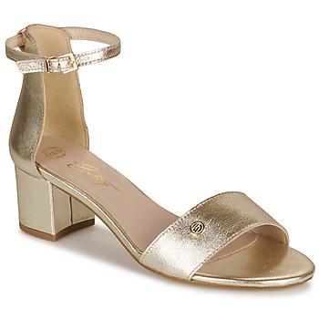 Schoenen Dames Sandalen / Open schoenen Betty London INNAMATA Goud