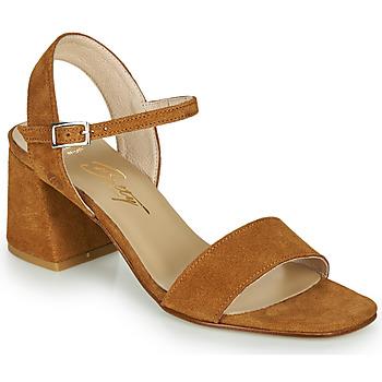 Schoenen Dames Sandalen / Open schoenen Betty London MAKITA Cognac