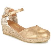 Schoenen Dames Sandalen / Open schoenen Betty London INONO Goud