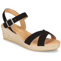 Schoenen Dames Sandalen / Open schoenen Betty London GIORGIA Zwart / Croute