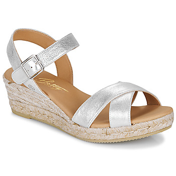 Schoenen Dames Sandalen / Open schoenen Betty London GIORGIA Zilver