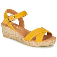 Schoenen Dames Sandalen / Open schoenen Betty London GIORGIA Geel
