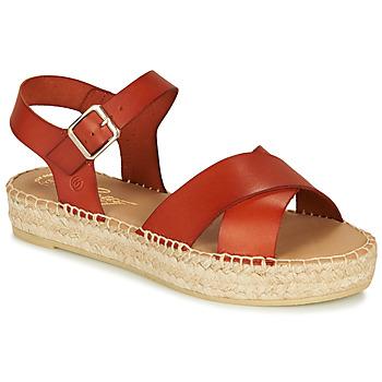 Schoenen Dames Sandalen / Open schoenen Betty London MIZOU Brown