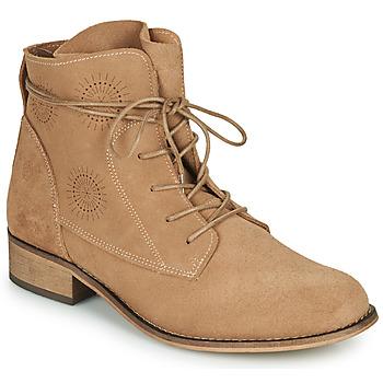 Schoenen Dames Laarzen Betty London MARILU Beige