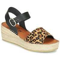 Schoenen Dames Sandalen / Open schoenen Betty London MARILUS Leopard