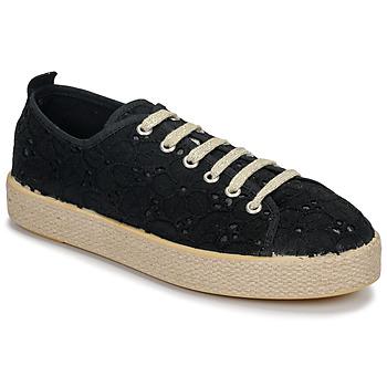 Schoenen Dames Lage sneakers Betty London MARISSOU Zwart