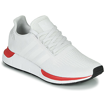Schoenen Heren Lage sneakers adidas Originals SWIFT RUN Wit / Rood