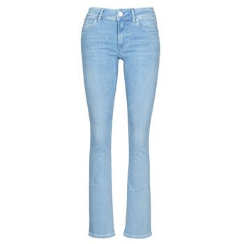 Textiel Dames Bootcut jeans Replay LUZ BOOTCUT Blauw / Medium