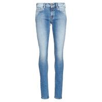 Textiel Dames Skinny Jeans Replay LUZ Blauw / Medium