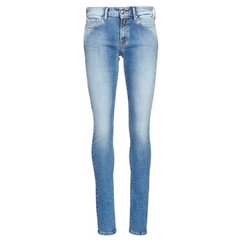 Textiel Dames Skinny Jeans Replay LUZ Blauw / Medium