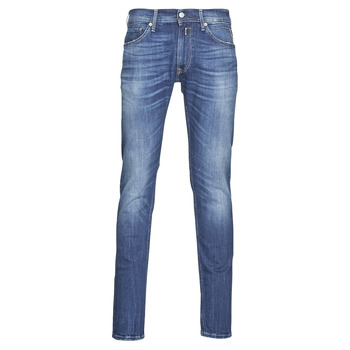 Textiel Heren Skinny Jeans Replay JONDRIL Blauw / Medium