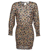 Textiel Dames Korte jurken Moony Mood FOUTILA Zwart
