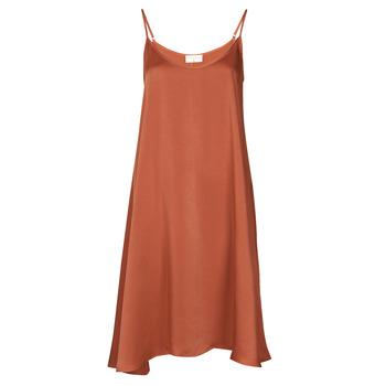 Textiel Dames Korte jurken Moony Mood FANETTI Brown