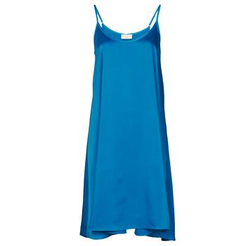 Textiel Dames Korte jurken Moony Mood MOLETTE Blauw