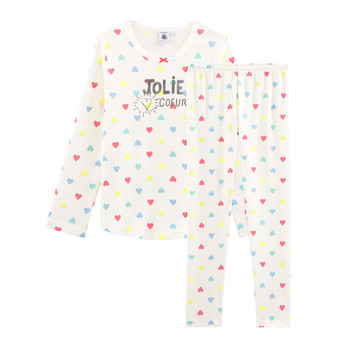 Textiel Meisjes Pyjama's / nachthemden Petit Bateau FIONA Multicolour