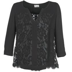 Textiel Dames Tops / Blousjes Stella Forest STIRPIA Zwart