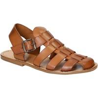 Schoenen Heren Sandalen / Open schoenen Gianluca - L'artigiano Del Cuoio 502 U CUOIO CUOIO Cuoio