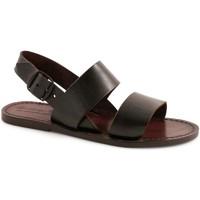 Schoenen Dames Sandalen / Open schoenen Gianluca - L'artigiano Del Cuoio 500X D MORO CUOIO Testa di Moro