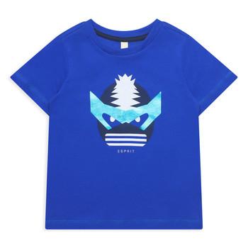 Textiel Meisjes T-shirts korte mouwen Esprit ENORA Blauw