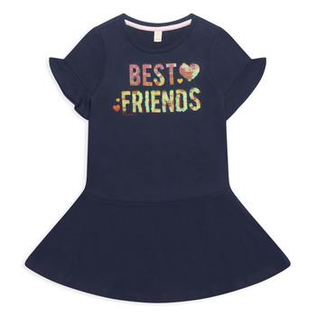 Textiel Meisjes Korte jurken Esprit EDINA Marine