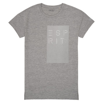 Textiel Meisjes T-shirts korte mouwen Esprit EVELYNE Grijs