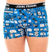 Ondergoed Heren Boxershorts John Frank Boxer Multicolour