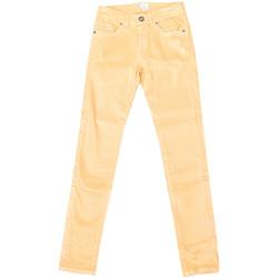 Textiel Dames Straight jeans La Martina Pantalon stretch Geel